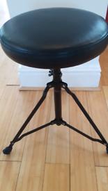 Drum piano music stool throne