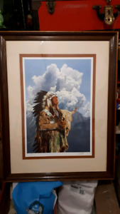 Limited Edition Native Indian Print