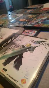 Lot of Retro Games PSX N64 NES PS2 Gamegear