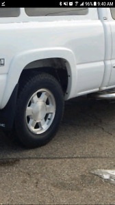 """Gmc 17""""rims and tires. Best offer!"""