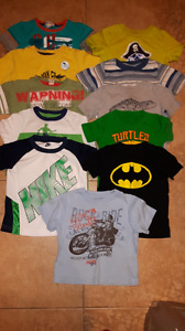 Lot of toddler boys tee shirts