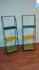 ** Colourful Display Stands **