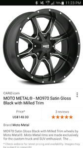 ISO rims and tires for ram 150p