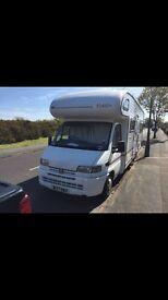 Peugeot 6 birth camper van