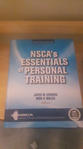 NSCA Personal Training Certification Texbook