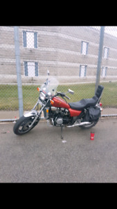 83 honda magna 750 30000km needs some work have all parts 650obo