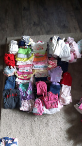Girl clothing 6-9 and 6-12 month clothing