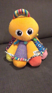 Baby lamaze musical octopus toy