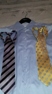 ZEGNA MEN'S DRESS SHIRTS AND SILK TIES AUTHENTIC