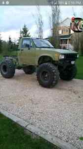 1982 Toyota Lifted on 39.5 tires