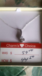 2 Beautiful Charm Necklaces