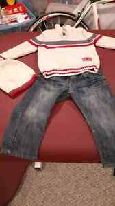 Boy's Size 2/3 Outfit with matching hat