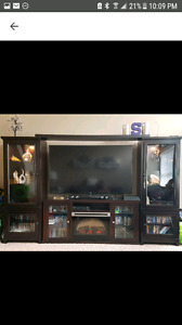 Solid Wood High Quality Entertainment Unit