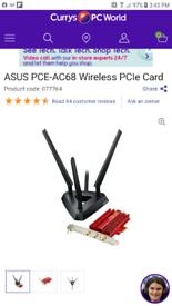 Pc ** Asus Wi-Fi card **