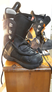 Freestyle size 10.5 snowboard boots