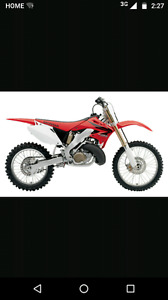 **Wanted** 250cc or Larger, name brand dirtbike