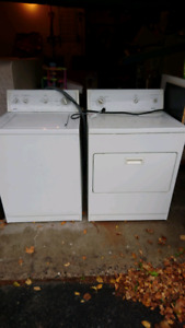 Kenmore 70 series washer & dryer