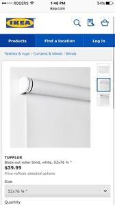 BRAND NEW IKEA TUPPLUR BLACKOUT SHADES