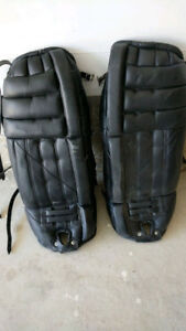 CHEAP ICE HOCKEY PADS - MINT for $20