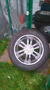 Rims jeep and might fit dodge