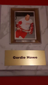 Hockey card Plaques