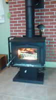 Small Wood Stove Only a year old.