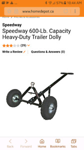 Heavy-Duty Trailer Dolly
