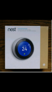 Nest generation 3 thermostat