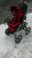 Poussette QUINNY 4XL Sport( free style) baby stroller rouge frai
