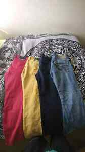4 pairs of mens jeans
