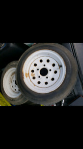 Wanted 2 4.80-12 or 5.30-12 tires with rims