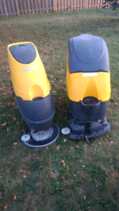 Two Lavor Autoscrubbers