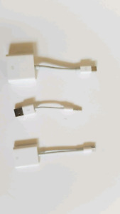 Original Apple adapters