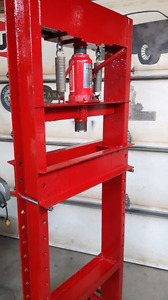 Hydrolic shop press