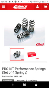 Eibach lowering coil springs 2876.140 - PRO-KIT Performance Spri