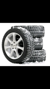 Winter Tire swap.  We'll come to you $80