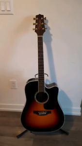 Mint takamine acoustic electric guitar  for trade