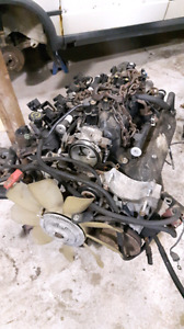 5.3l truck LS engine with stripped harness
