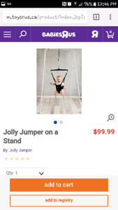 Jolly jumper and musical mat
