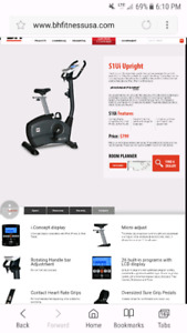 S1UI Stationary bike