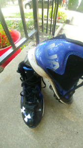 Boys size 6, 7 & 8 Football Cleats and Basketball Shoes
