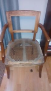 upholstering on chair wanted
