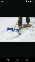 Snow shoveling young and litttle area barrie