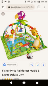 Gym Rainforest Fisher Price