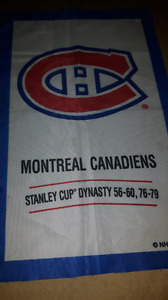 Montreal Canadiens Stanley Cup flag