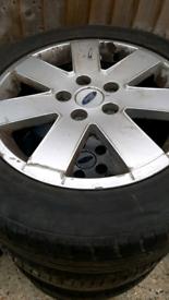 4 Tyres & Rims 215 - 55 - 16