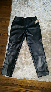 BNWT (MRSP: $119)Rachel Roy faux leather ankle pants.