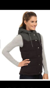 As new ~ women's Patagonia Bivy down vest ~ size large