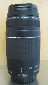Canon 75 - 300 mm lens