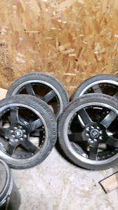 17 inch Motegi Racing rims